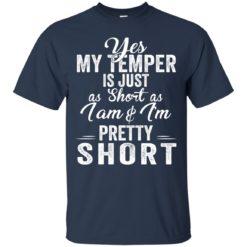Yes my temper is just a short as I am and I'm pretty short shirt - image 1010 247x247