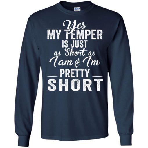 Yes my temper is just a short as I am and I'm pretty short shirt - image 1013 510x510