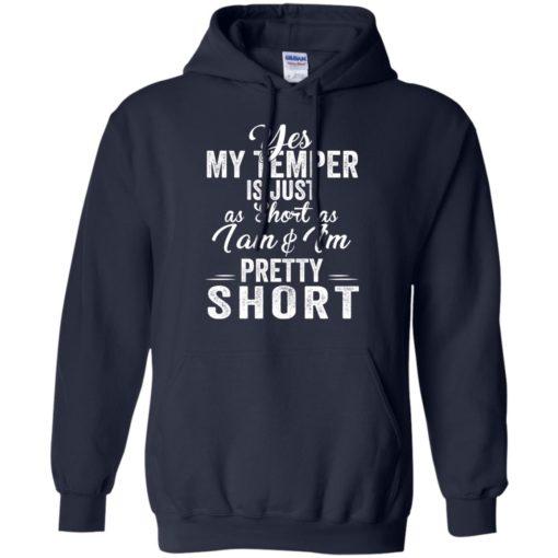 Yes my temper is just a short as I am and I'm pretty short shirt - image 1015 510x510
