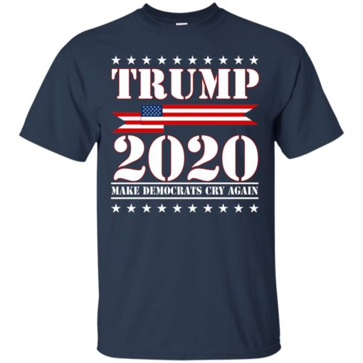Trump 2020 make Democrat cry again shirt - image 1250 510x510