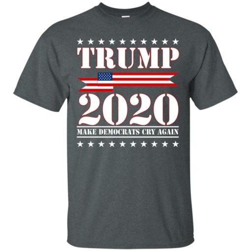 Trump 2020 make Democrat cry again shirt - image 1251 510x510