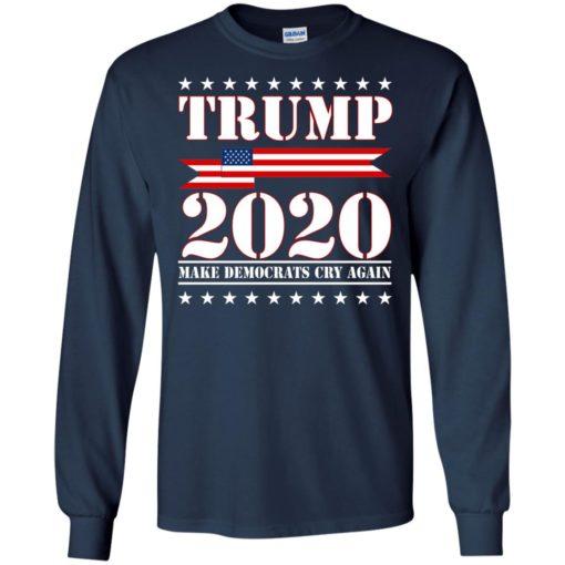 Trump 2020 make Democrat cry again shirt - image 1253 510x510