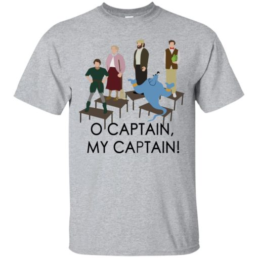 O captain my captain Robin Williams tribute shirt - image 1729 510x510