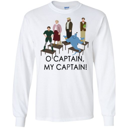O captain my captain Robin Williams tribute shirt - image 1733 510x510