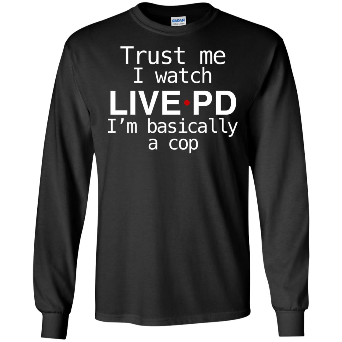 Trust Me Im A Policeman Mens Hoodie Pullover