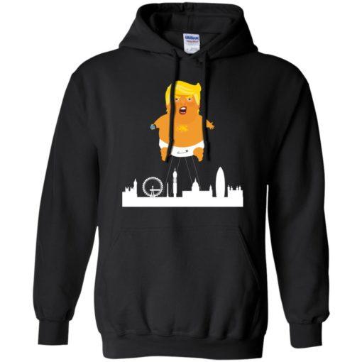 Baby Trump Crying Balloon London shirt - image 1914 510x510