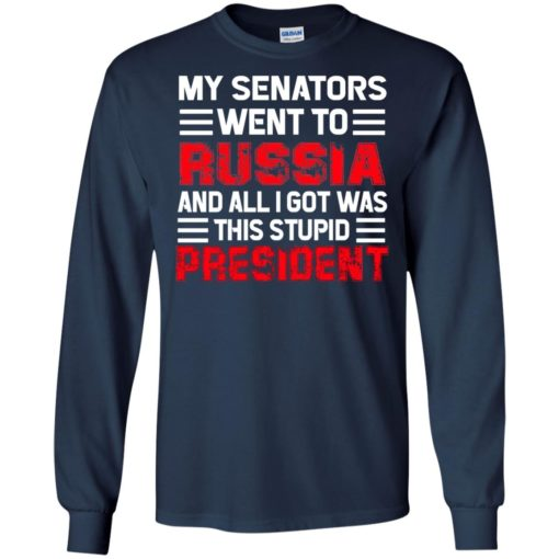 My senators went to Russia and all I got was this stupid President shirt - image 1973 510x510