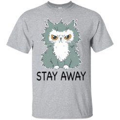 Funny cat stay away shirt - image 2029 247x247