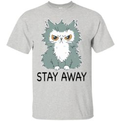 Funny cat stay away shirt - image 2030 247x247