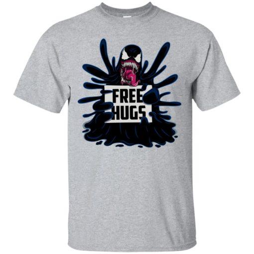 Venom free hugs shirt - image 2041 510x510