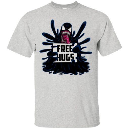 Venom free hugs shirt - image 2042 510x510