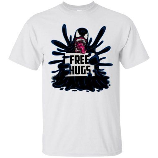 Venom free hugs shirt - image 2043 510x510