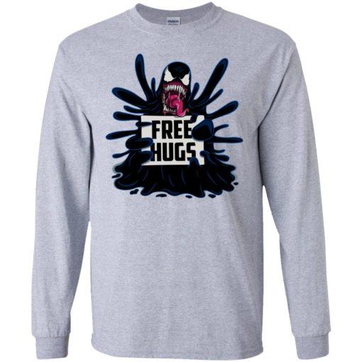 Venom free hugs shirt - image 2044 510x510
