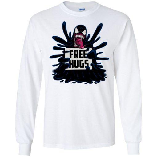 Venom free hugs shirt - image 2045 510x510