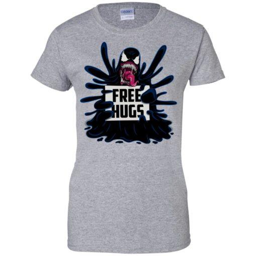 Venom free hugs shirt - image 2051 510x510