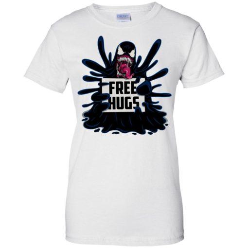 Venom free hugs shirt - image 2052 510x510