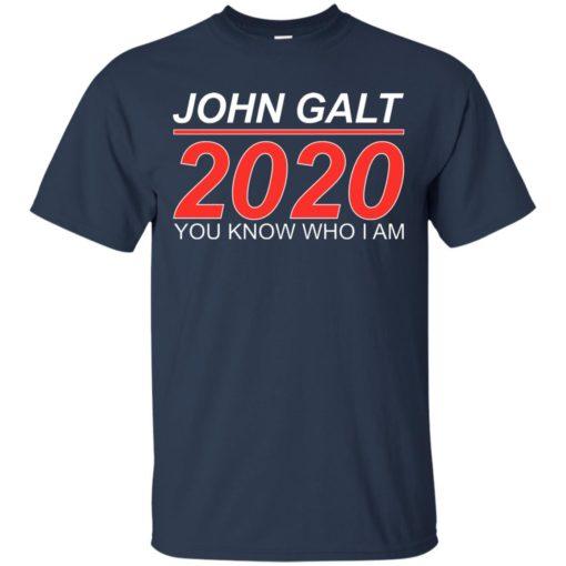 John Galt 2020 shirt - image 2174 510x510