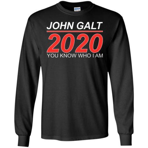 John Galt 2020 shirt - image 2176 510x510