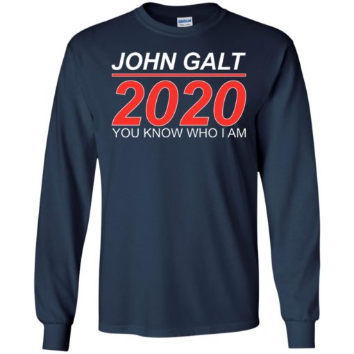 John Galt 2020 shirt - image 2177 510x510