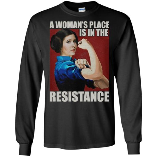 A Woman's place is in the Resistance shirt - image 2404 510x510