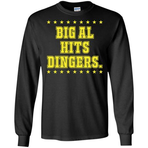 Big Al Hits Dingers shirt - image 2717 510x510