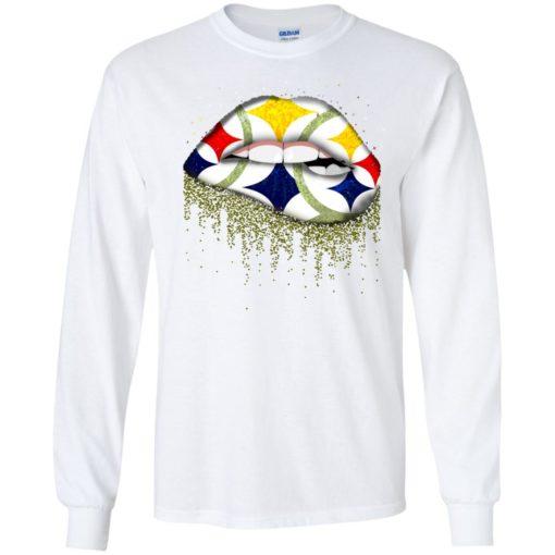 Pittsburgh Steelers Lips shirt - image 2859 510x510