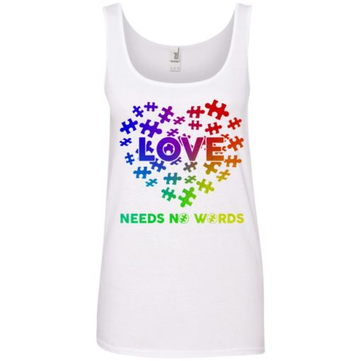 Autism Love need no Words shirt - image 2903 510x510