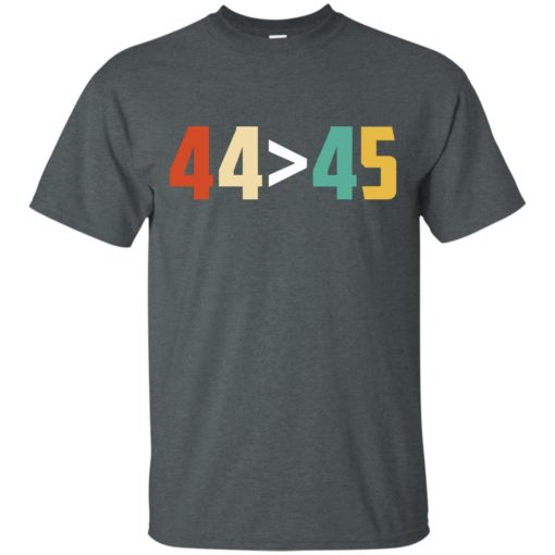 44 is greater than 45 shirt - image 3013 510x510