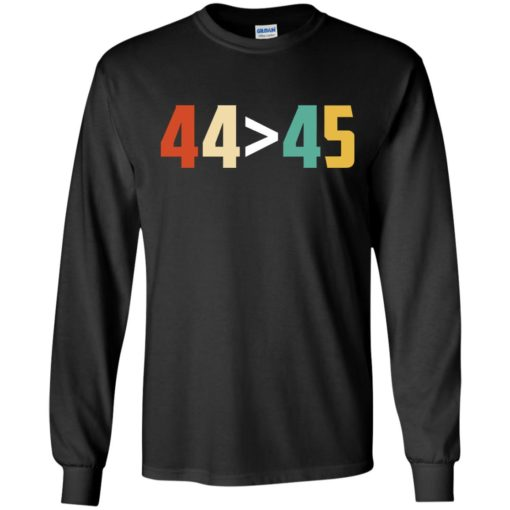 44 is greater than 45 shirt - image 3014 510x510