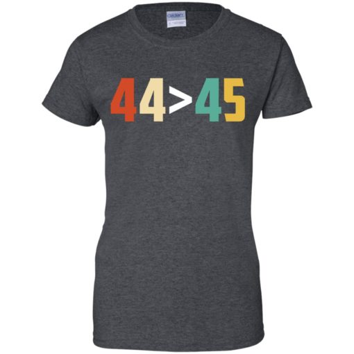 44 is greater than 45 shirt - image 3020 510x510