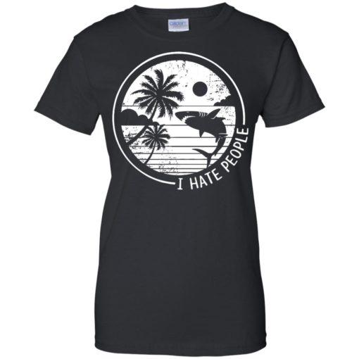 Shark I hate people shirt - image 309 510x510