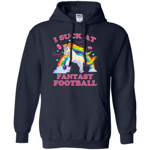 Unicorn I suck at fantasy football shirt - image 3094 510x510