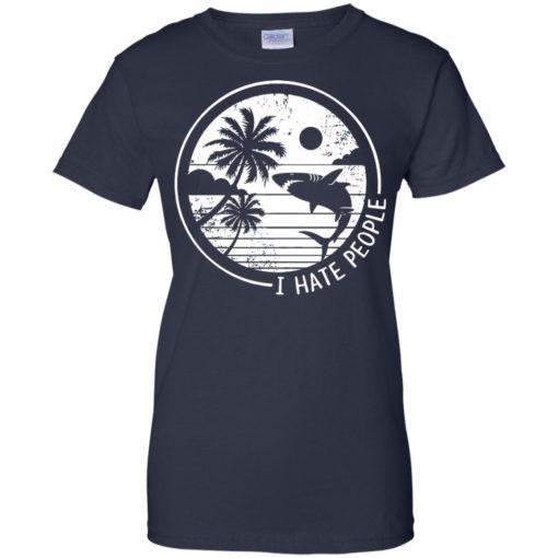 Shark I hate people shirt - image 311 510x510