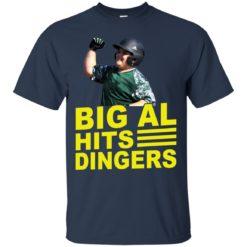 Little League boys big al hits Dingers shirt - image 3359 247x247