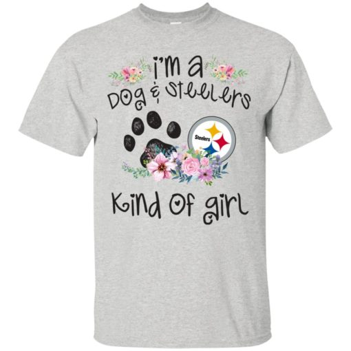 I'm a Dog and Steelers Kind of Girl shirt - image 3589 510x510