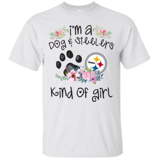 I'm a Dog and Steelers Kind of Girl shirt - image 3591 510x510