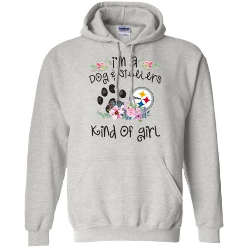 I'm a Dog and Steelers Kind of Girl shirt - image 3594 510x510