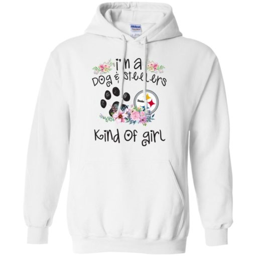 I'm a Dog and Steelers Kind of Girl shirt - image 3595 510x510