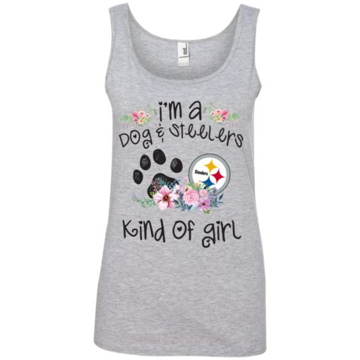 I'm a Dog and Steelers Kind of Girl shirt - image 3596 510x510