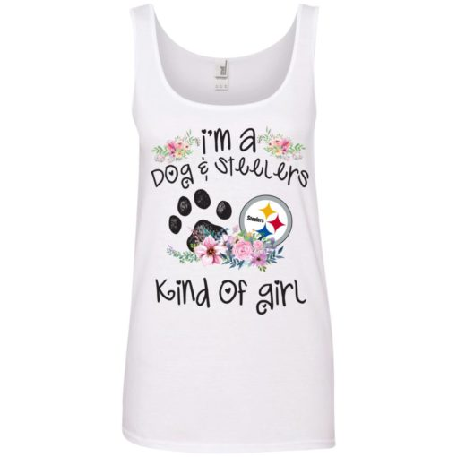 I'm a Dog and Steelers Kind of Girl shirt - image 3597 510x510