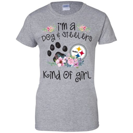 I'm a Dog and Steelers Kind of Girl shirt - image 3598 510x510