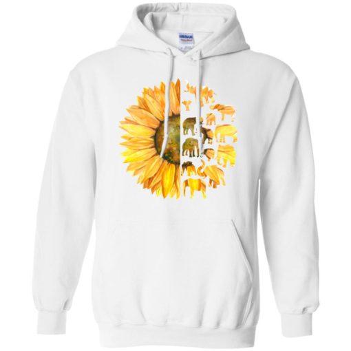 Elephant sunflower shirt - image 3612 510x510