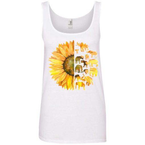 Elephant sunflower shirt - image 3613 510x510