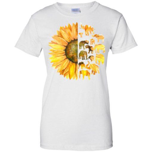 Elephant sunflower shirt - image 3614 510x510