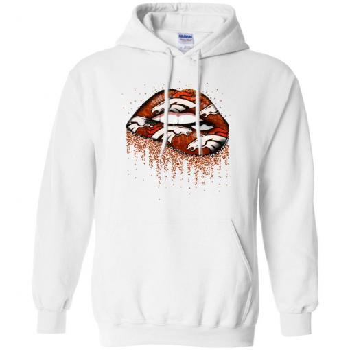 Denver Broncos lips shirt - image 3758 510x510