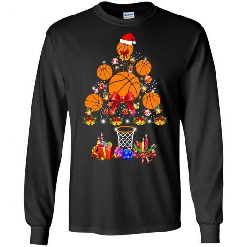 Baseball Christmas Tree shirt - image 3766 510x510