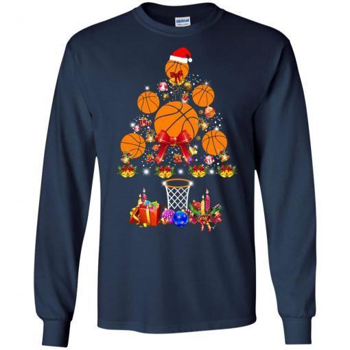 Baseball Christmas Tree shirt - image 3767 510x510