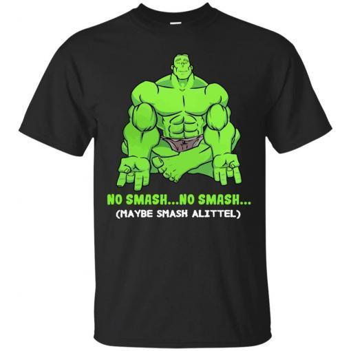 Hulk yoga No smash no smash maybe smash a little shirt - image 3774 510x510