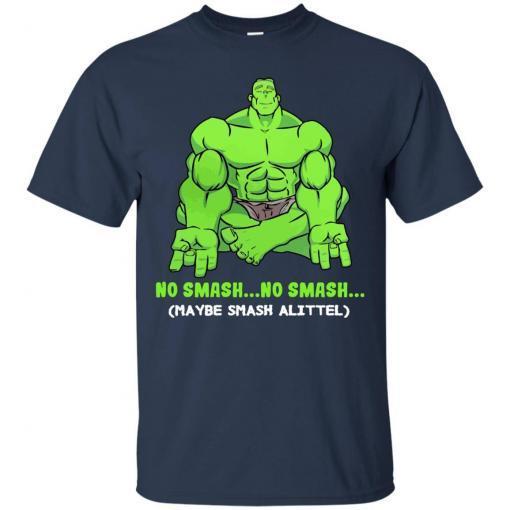 Hulk yoga No smash no smash maybe smash a little shirt - image 3775 510x510