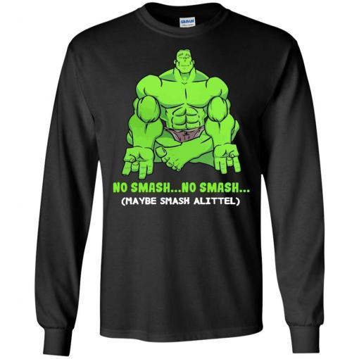 Hulk yoga No smash no smash maybe smash a little shirt - image 3777 510x510
